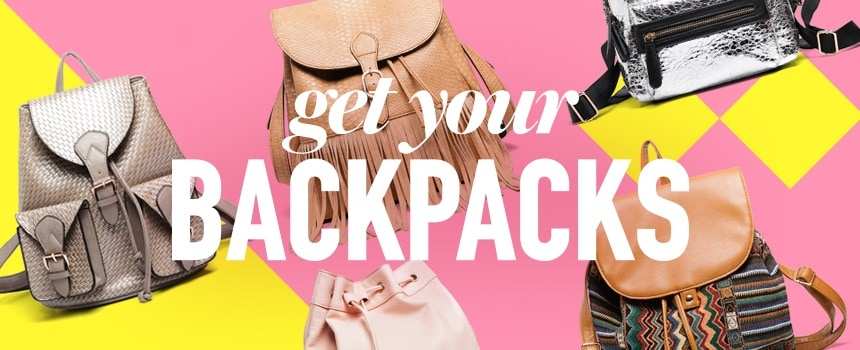 Get your backpack!