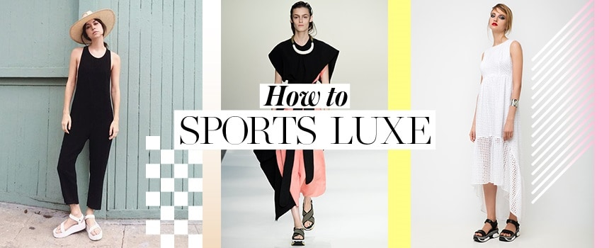 How to: Sports Luxe!