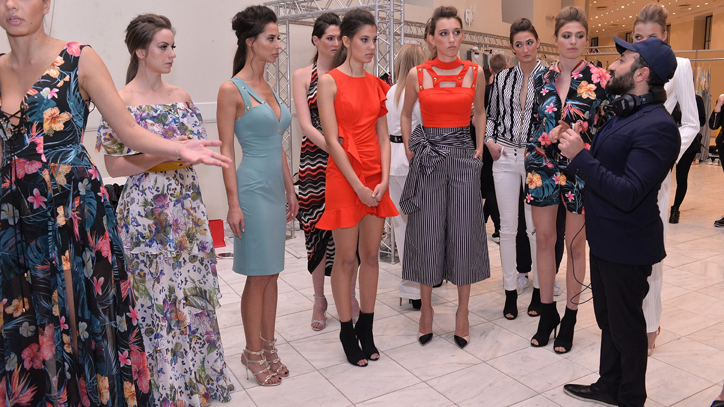MIGATO on the catwalk of the 23rd Athens Xclusive Designers Week