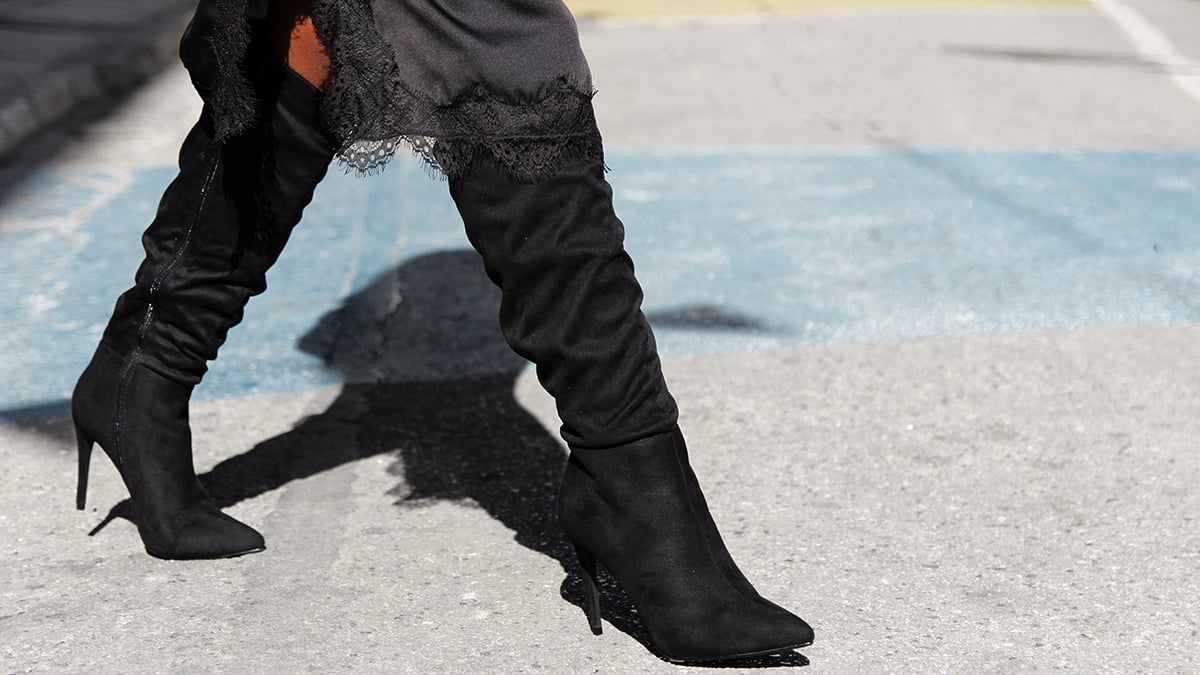 The case of the Slouchy Boots