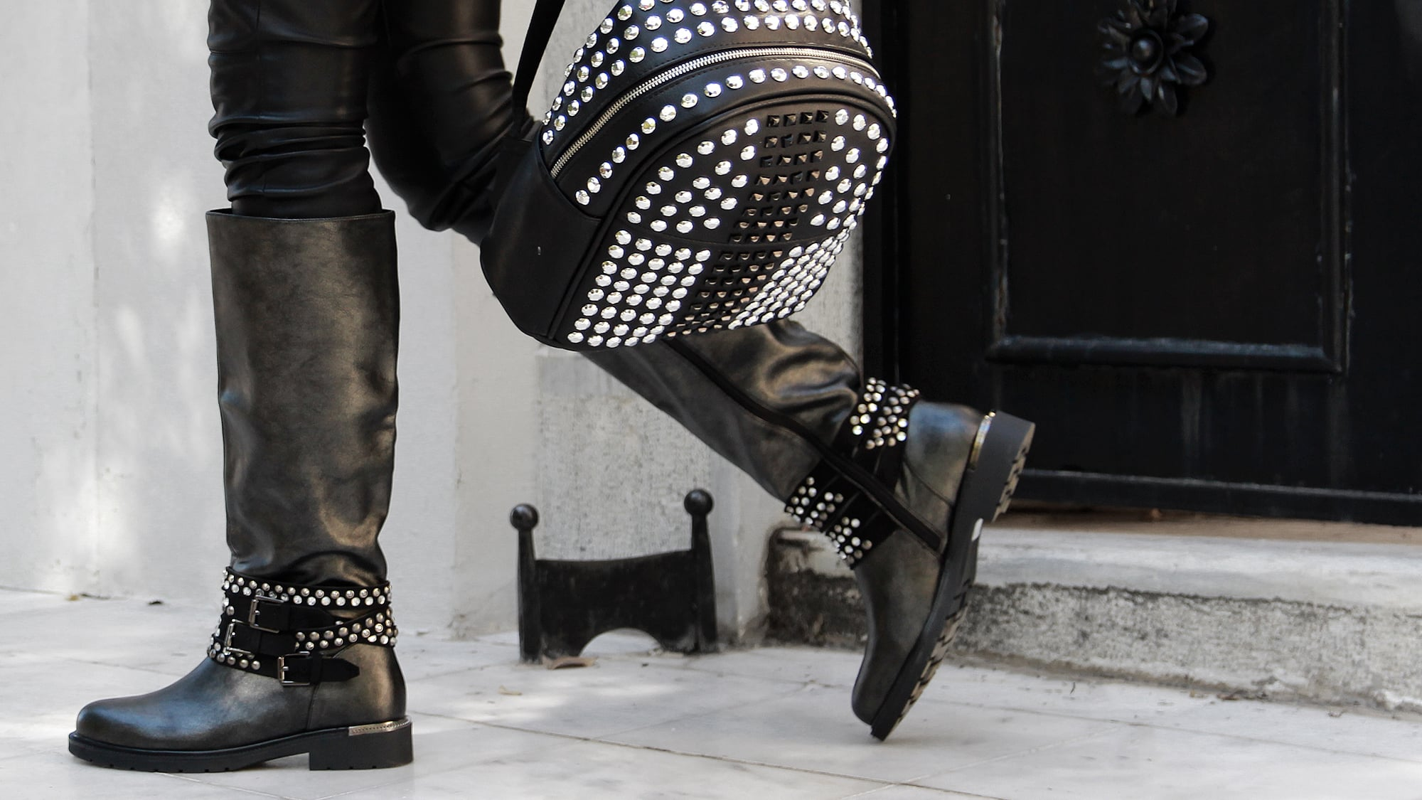Bring Out Your Rocker Chic With Biker Boots
