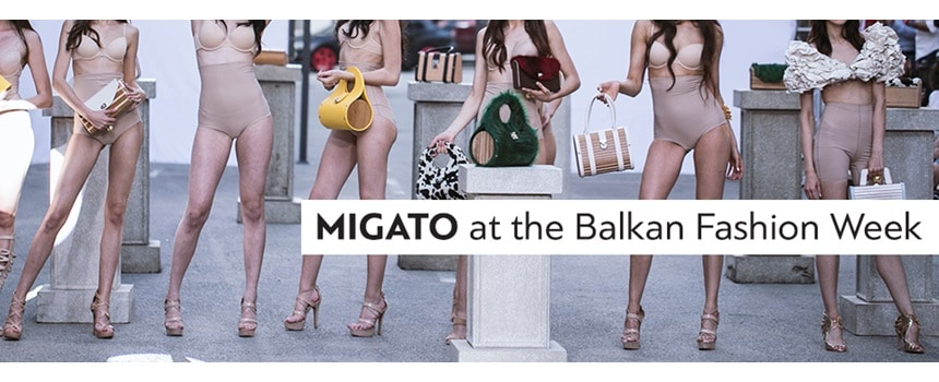 MIGATO at the Balkan Fashion Week