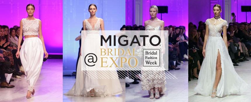 Η MIGATO στην Bridal Fashion Week 2017
