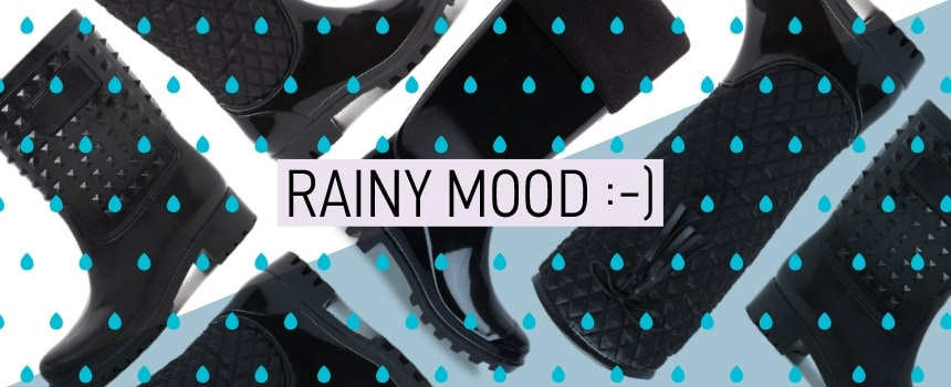 It's raining boots