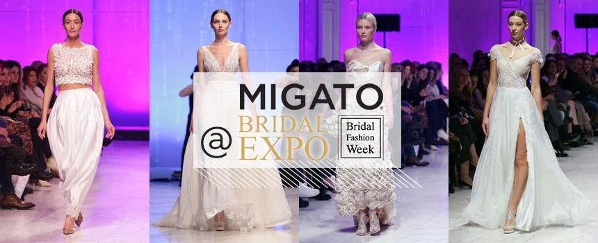 MIGATO goes to Bridal Fashion Week 2017