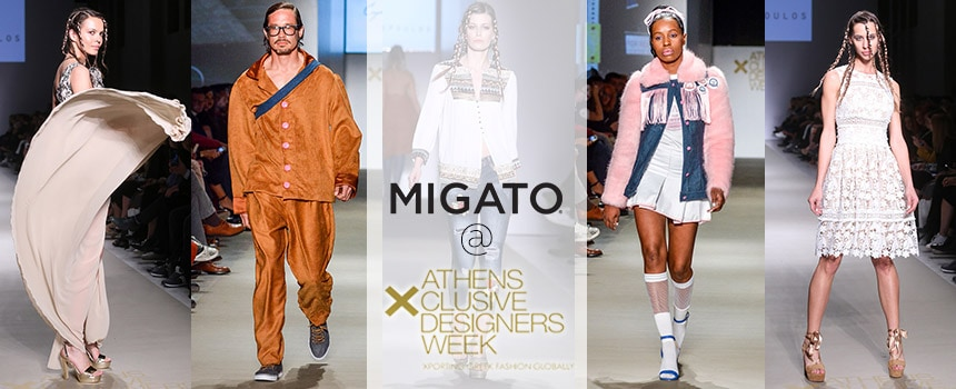 MIGATO on the catwalk of Athens Xclusive Designers Week