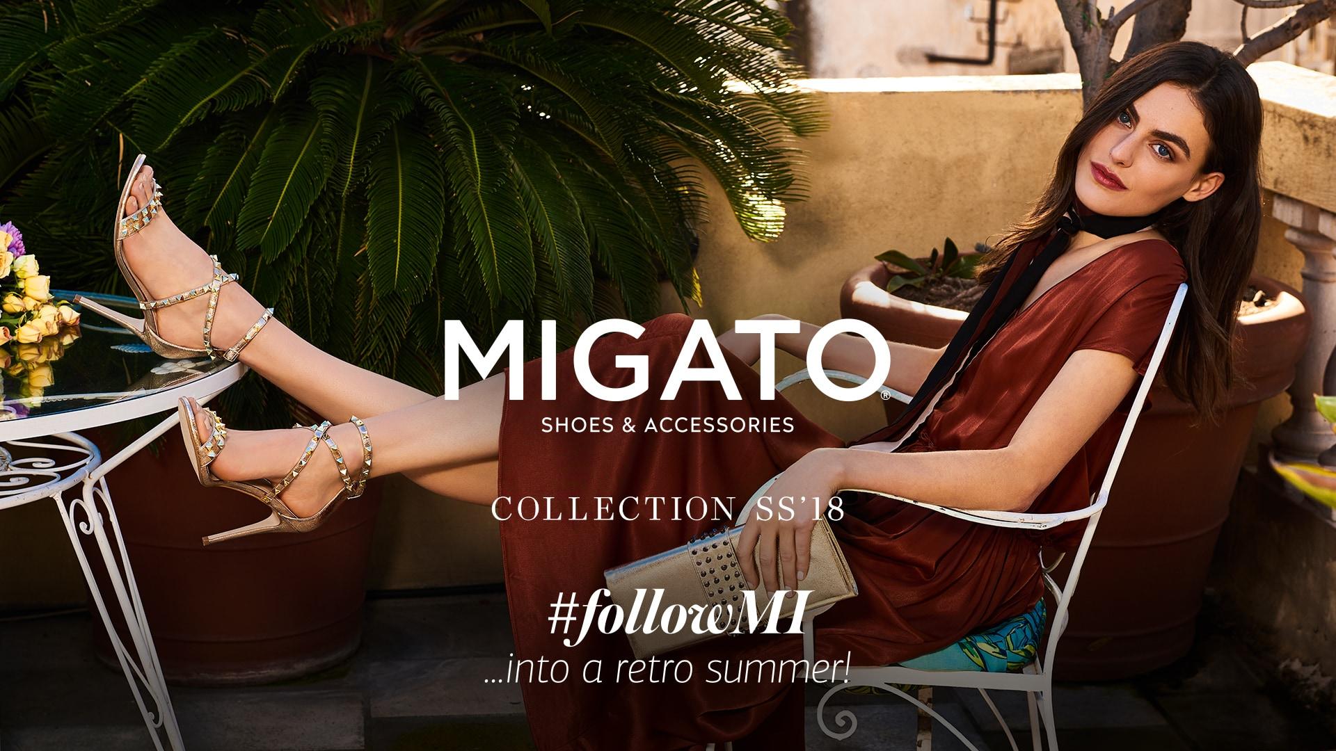 MIGATO SS18 Campaign #followMI into a Retro Summer