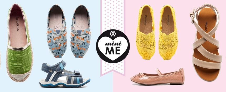 MIGATO shoes for your godchild!