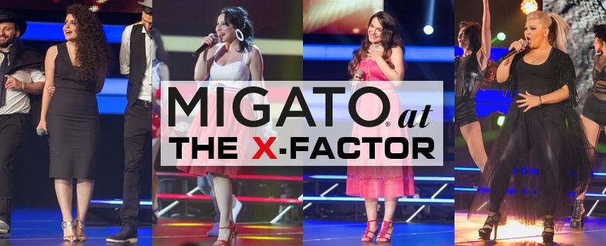 H MIGATO στο 2ο The X-Factor live show!