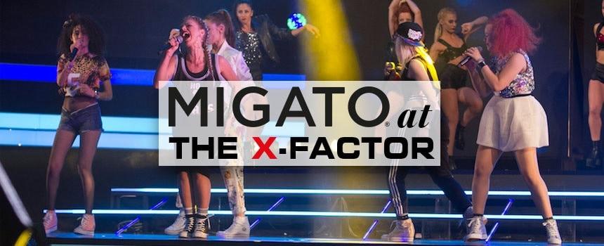H MIGATO στο 1ο The X-Factor live show!