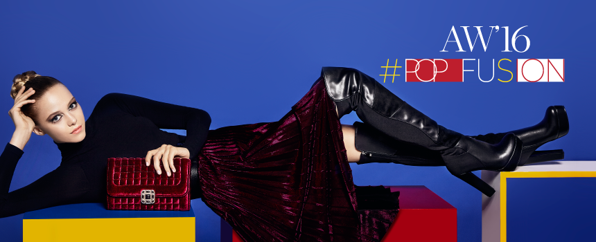 Pop Fusion - MIGATO AW16-17 Campaign