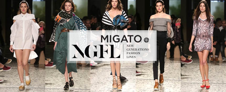 "MIGATO supports ""New Generations Fashion Lines"""