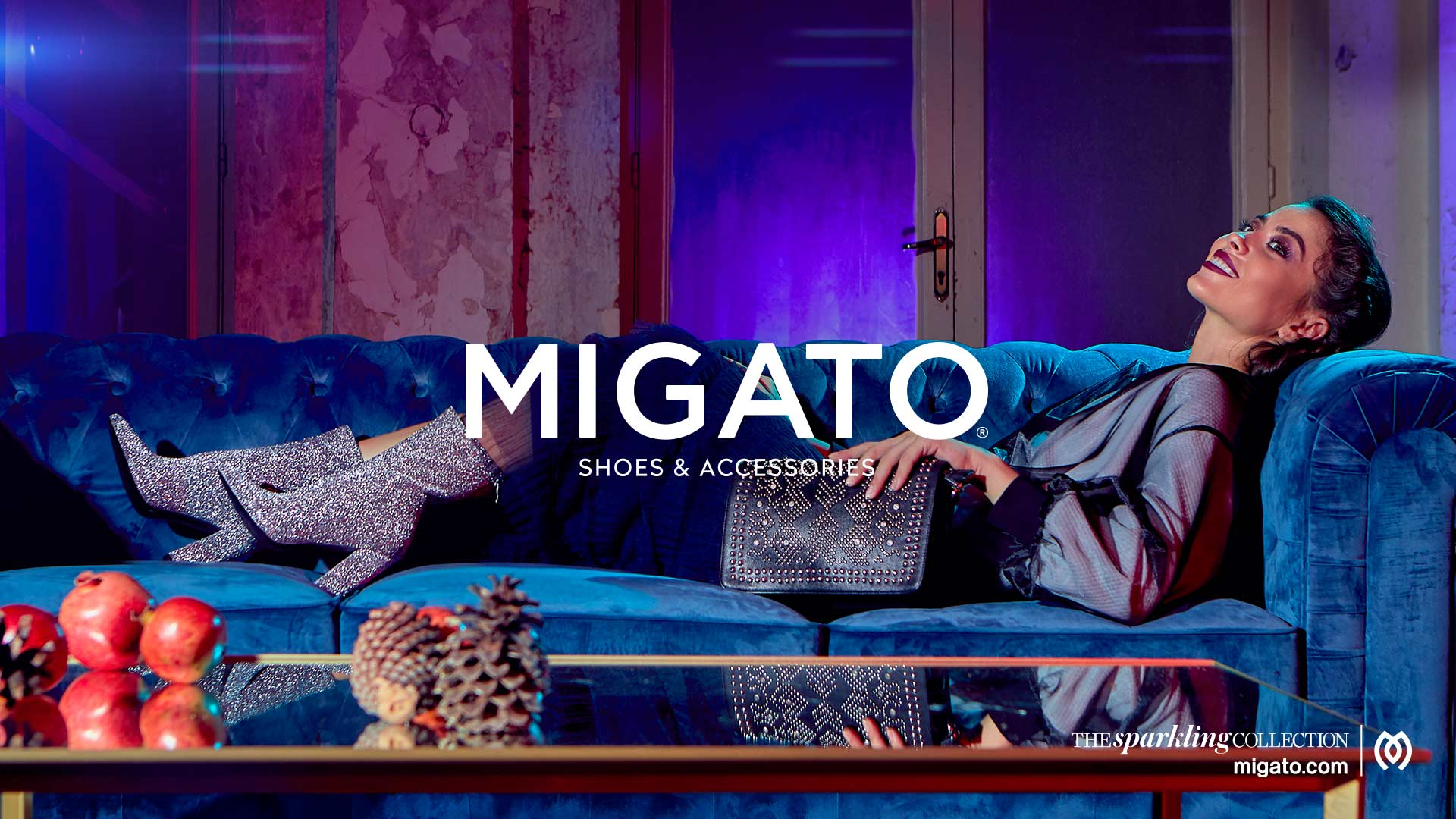 The Sparkling Collection  MIGATO WINTER 18-19 CAMPAIGN