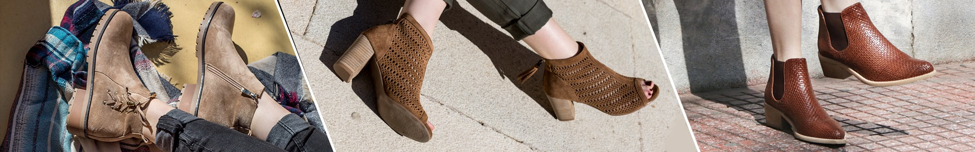 HIGH-HEEL BOOTIES - 40