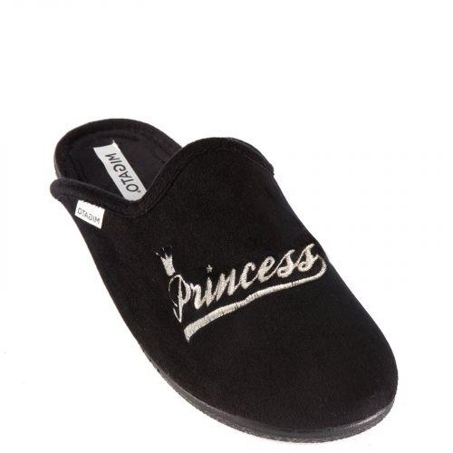 Black Princess slipper