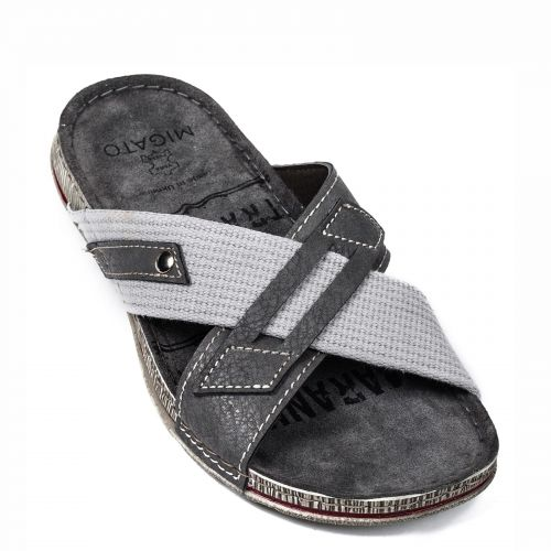 Men's grey beach sandal