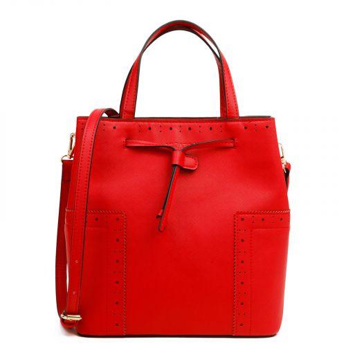 Κόκκινη τσάντα πουγκί