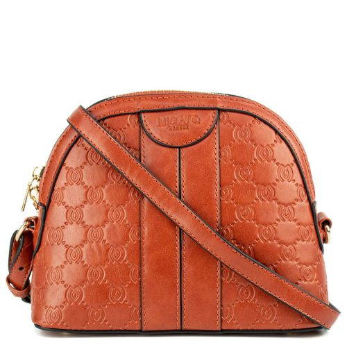Orange mini crossbody bag
