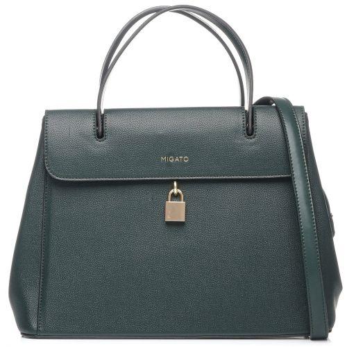 Πράσινη τσάντα χειρός