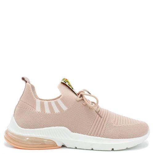 Pink elastic sneaker