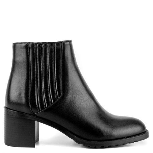 Black low cut bootie