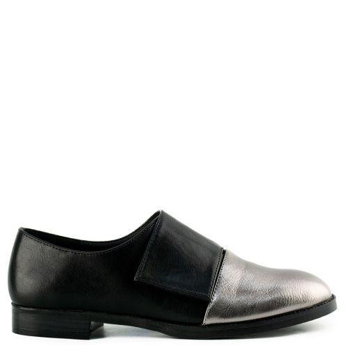 Μαύρο slip-on Oxford