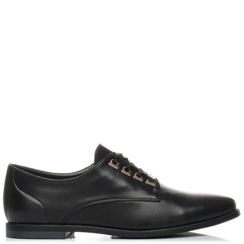 Black oxford with lace