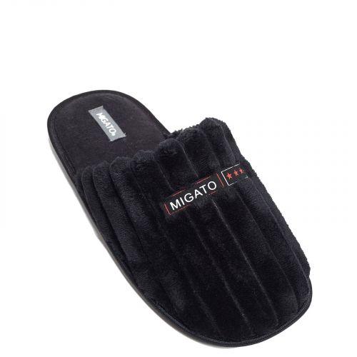 Black men's slipper