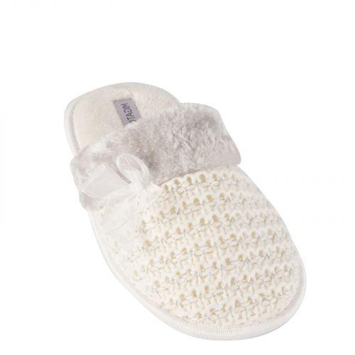 White women's slipper