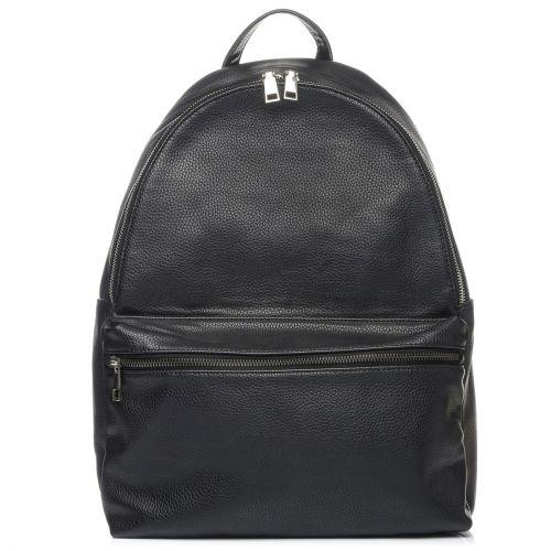 Μαύρη ανδρική τσάντα πλάτης