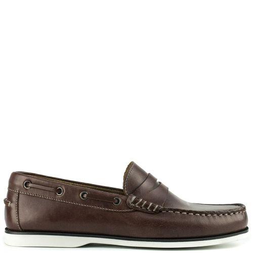 Δερμάτινο καφέ boat shoe