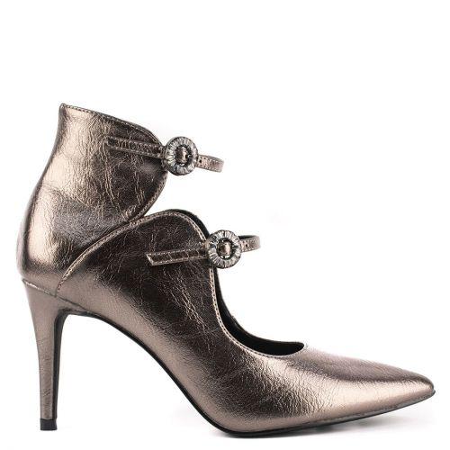 Pewter multistrap pump