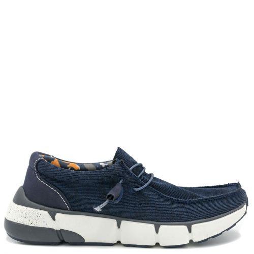 Men's navy casual sneaker