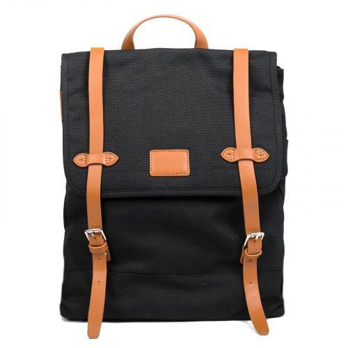 Men's black backpack