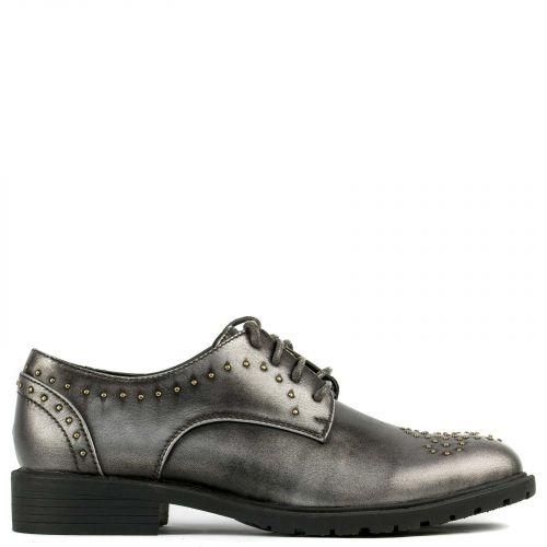 Pewter Oxford with studs