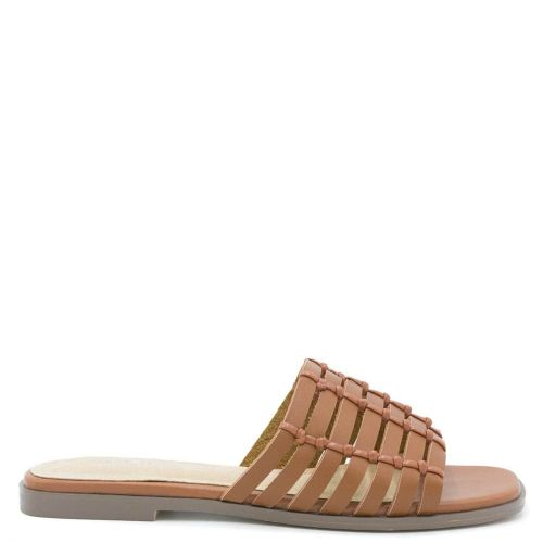 Tobacco sandal with band
