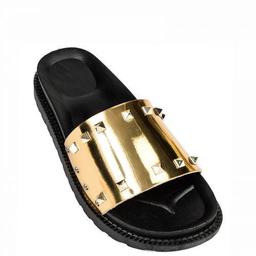 Χρυσή slide σαγιονάρα