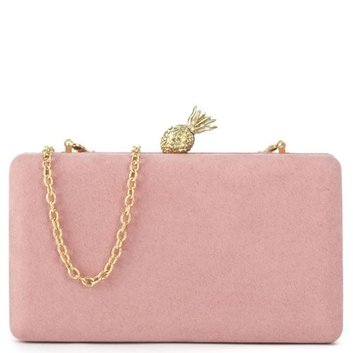 Pink clutch with pineapple switch