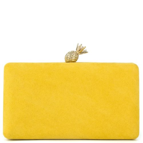 Yellow clutch with pineapple switch