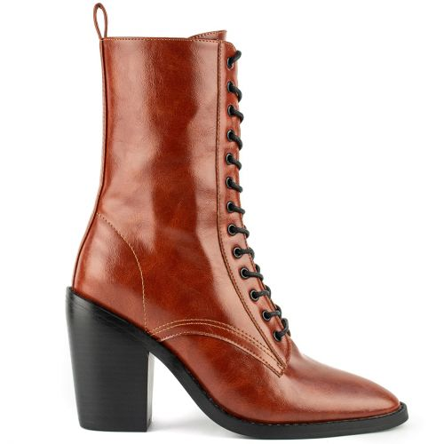 Tabacco western bootie