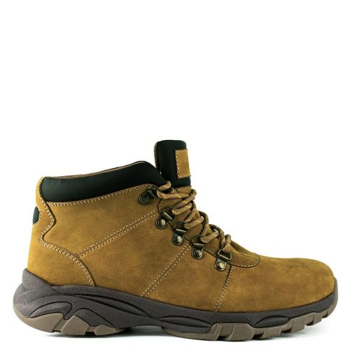 Men's yellow leather low cut boot