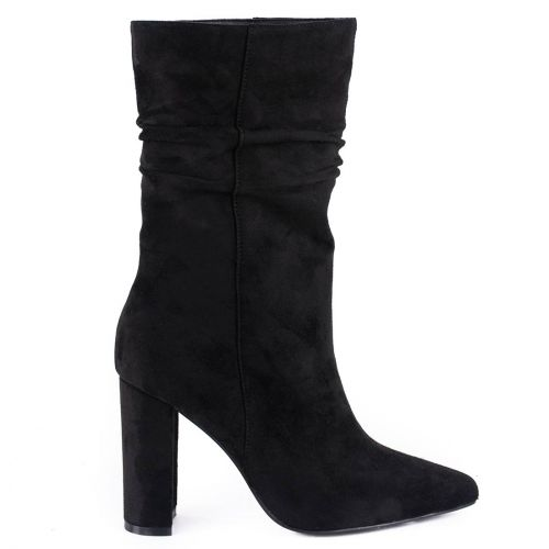 Black slouchy boot