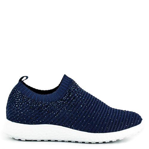 Μπλε slip-on sneaker