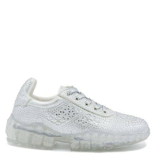 Silver chunky sole sneaker
