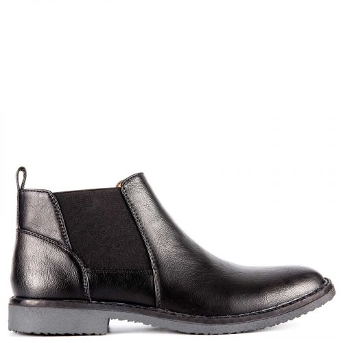 Black men's low cut boot