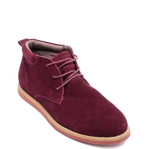 Men's dark red boot