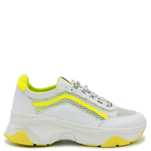Yellow monster sole sneaker