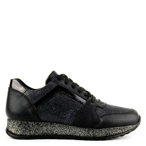 Black sneaker with glitter