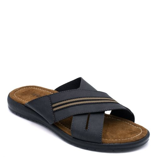 Men's black beach sandal