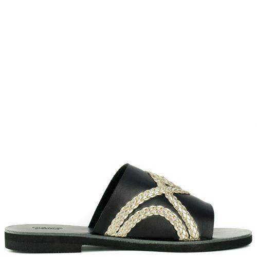 Black Grecious sandal